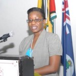 CWM Caribbean Director Derise Williams chairs the day's proceedings
