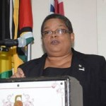 Mrs. Carol Palmer, Chairperson of the  National Taskforce against Trafficking in Persons (NATFATIP) in Jamaica