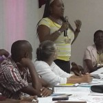 Ecumenical partner from CANAAC participates in the discussion