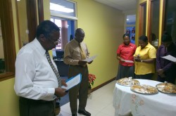 The blessing of the CWM Caribbean Regional office space