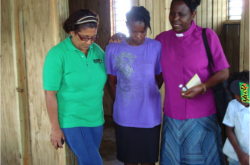 Partner in Mission, Rev. Elizabeth Chirwa of United Church in Zambia serves in Jamaica in pastoral ministry